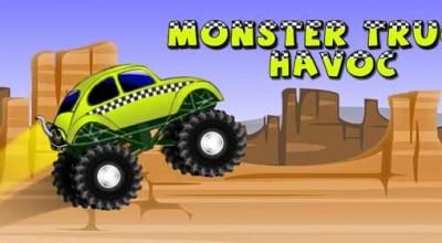 بازی ویران کردن کامیون ها Monster Truck Havoc