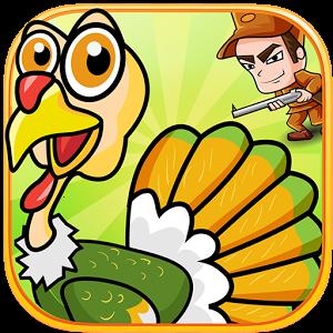 بازی شکار بوقلمون ها Thanksgiving Turkey Hunt اندروید
