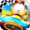 بازی اندروید مسابقه با گارفیلد Garfield Kart + دیتا