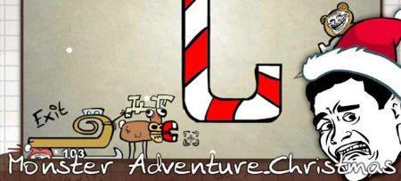بازی ماجراهای هیولای کریسمس Monster Adventure-Christmas